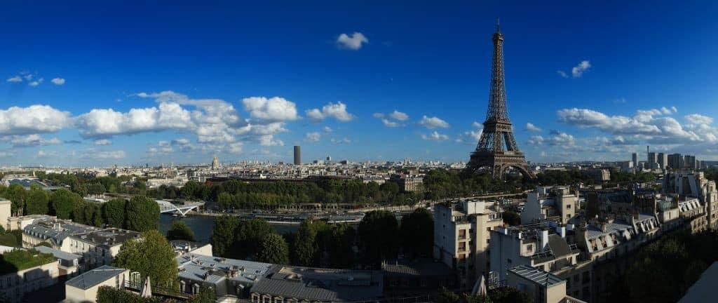Paris vue toits