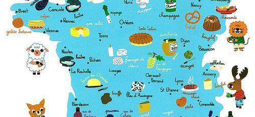 Especialidades gastronomicas das regi es francesas for Lista de comidas francesas
