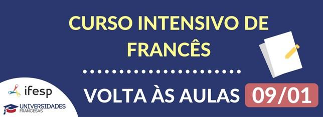 cursos intensivos de francês